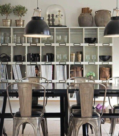 Sillas para comedor estilo industrial casa web for Sillas para comedor industrial