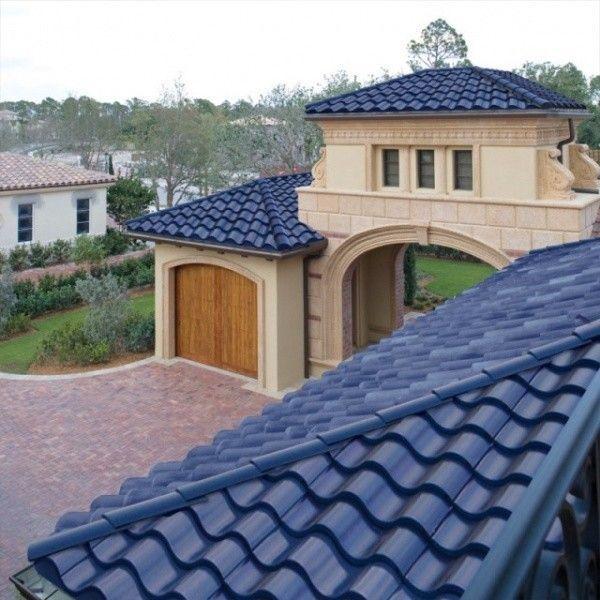 Tejas azules casa web - Precio de tejas ...