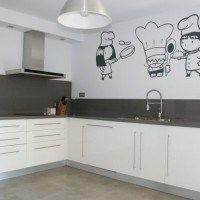 vinilo para pared de cocina