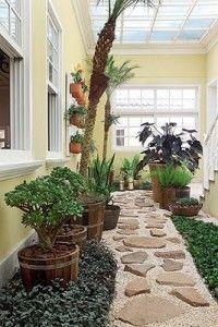 Jardin cubierto