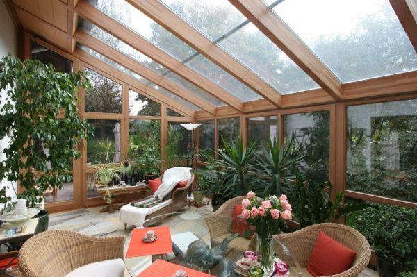 Moviliario para jardines de invierno