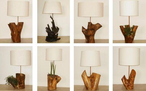 Veladores rusticos casa web - Reciclar marmol ...