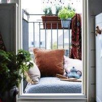aprovechar un pequeño balcon