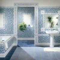 baños modernos con venecitas