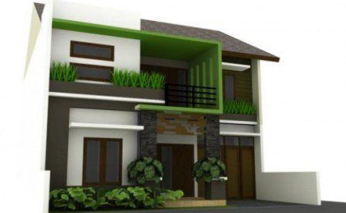 Casas de dise o moderno casa web for Disenos para frentes de casas