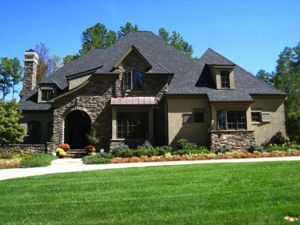 Frentes de casas casa web for Casas modernas rusticas