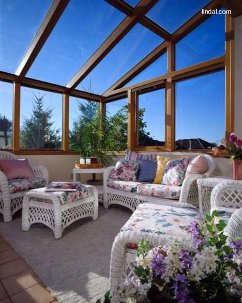 Cerramientos de madera para jardines de invierno casa web for Decoracion construccion