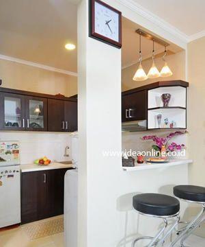 Cocina peque a con desayunador casa web for Modelos de cocinas pequenas con desayunador