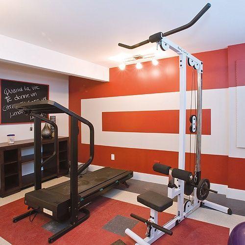 Como decorar un gimnasio casa web - Casa con gimnasio ...