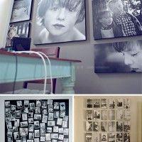 cuadros grandes de fotos en blanco y negro