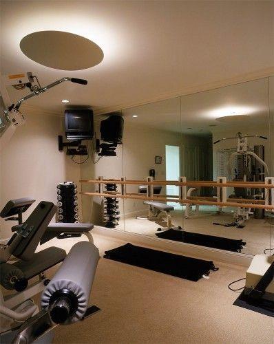 Deco gimnasio en casa casa web - Casa con gimnasio ...