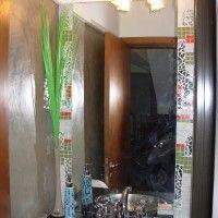 decorar el baño con venecitas