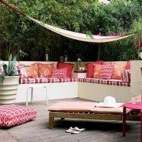 decorar un balcon amplio