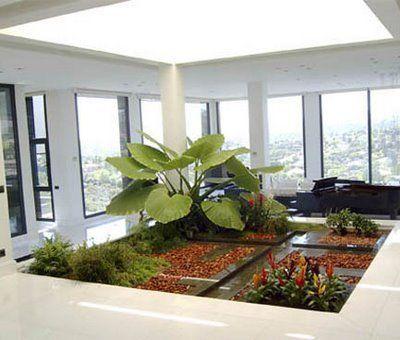 diseño de un jardin de invierno