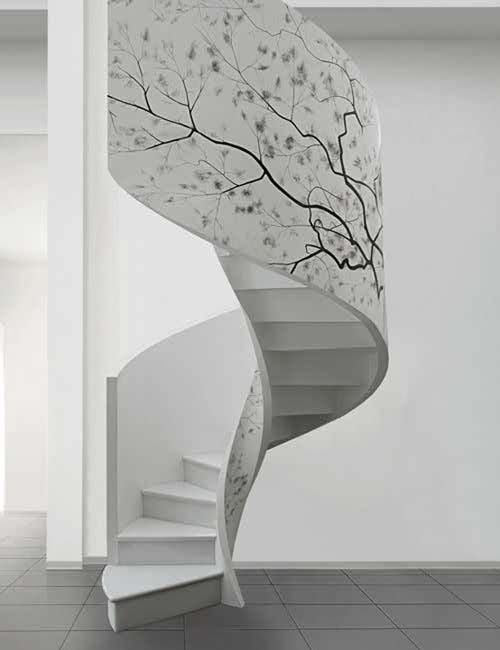 Escalera Caracol De Diseno Moderno Casa Web - Escaleras-de-caracol-modernas