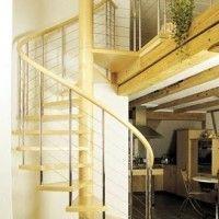 escalera caracol moderna