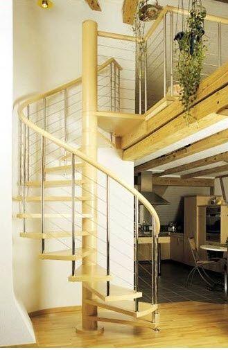 Escalera Caracol Moderna Casa Web