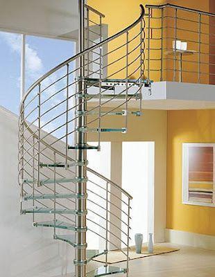 Escaleras Modernas Casa Web - Escaleras-de-caracol-modernas