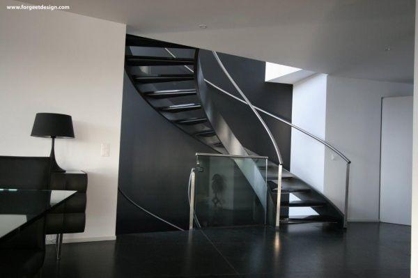 Escaleras modernas casa web for Imagenes escaleras modernas