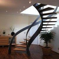 fotos de escaleras caracol