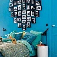 fotos en el respaldo de la camas