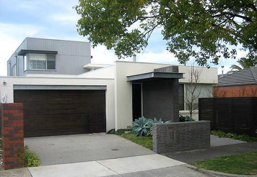 Frentes de casas casa web for Fachadas de garajes modernos