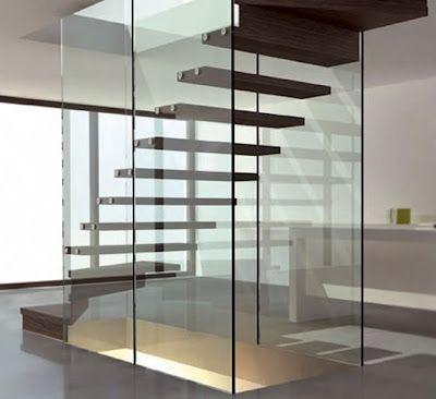 Escaleras Para Casas Modernas. Interesting Increbles Escaleras De ...