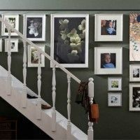 ideas para decorar la pared de la escalera