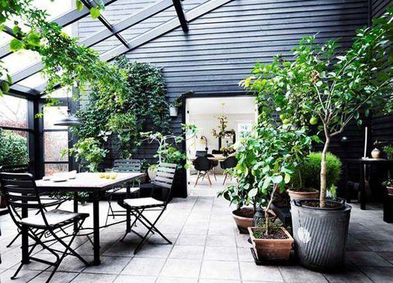 jardin de invierno estilo moderno