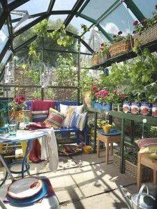 jardin de invierno rustico