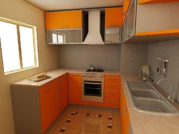Modelos de cocinas peque as casa web for Cocinetas para cocinas pequenas