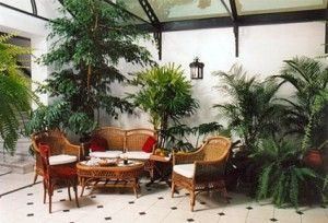 muebles para jardines de invierno
