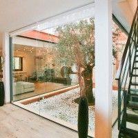 patio interno minimalista