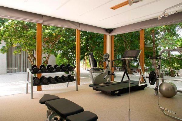 sala de fitness en casa
