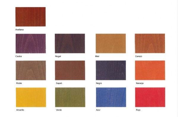 Como darle color a los muebles con tinte casa web for Colores de muebles