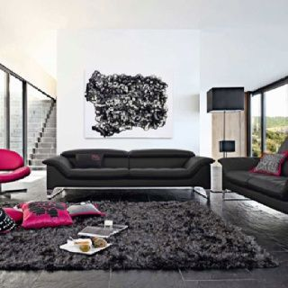 alfombra gris super suave