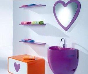 baño romantico infantil
