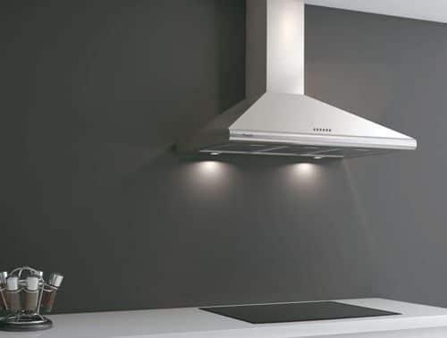 Campanas extractoras decorativas casa web for Extractor de cocina de pared