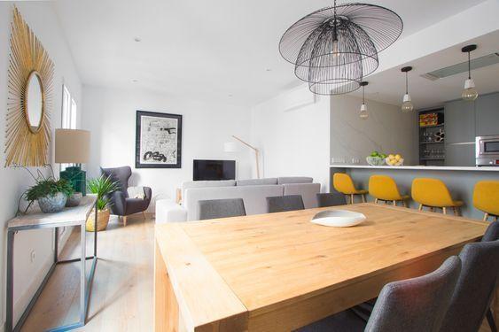 Integrar la cocina con livig comedor casa web for Modelo de cocina integrado