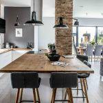 concepto abierto moderno living cocina comedor