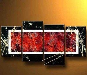 cuadros abstractos en serie