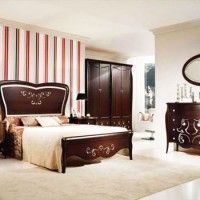domitorio matrimonial con muebles clasicos