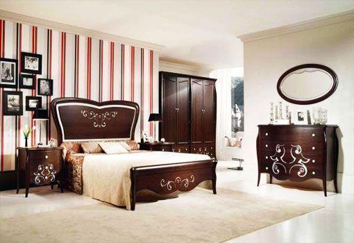 Domitorio matrimonial con muebles clasicos casa web for Muebles estilo clasico moderno