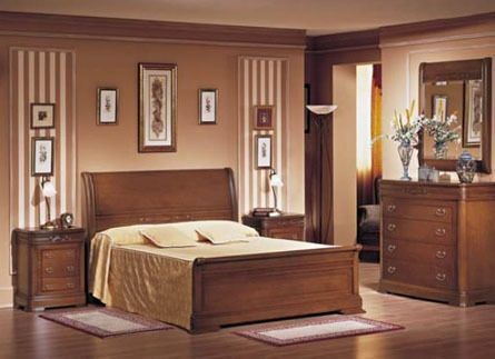 Dormitorio con muebles de estilo clasico casa web - Muebles dormitorio moderno ...