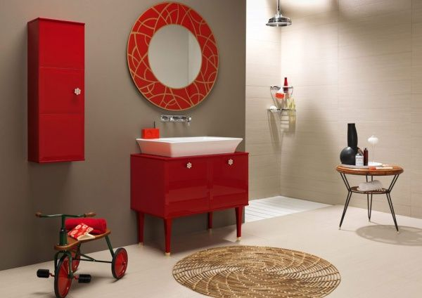 espejos decorativos para baños