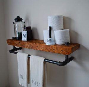 estante baño estilo industrial