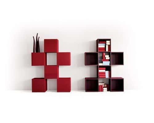La estanteria como elemento decorativo casa web - Estanterias de diseno ...