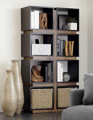 La estanteria como elemento decorativo casa web for Repisas estilo industrial