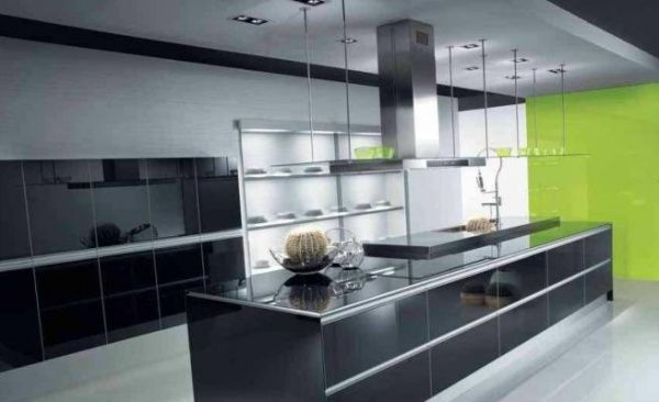 Fotos de extractores de cocinas modernos casa web for Campana extractora para cocina