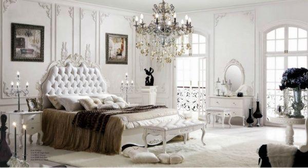 Habitacion blanca clasica y moderna casa web - Decoracion clasica moderna ...